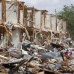 Blast-damaged apartments in West, Texas. (Photo courtesy of Mark Liston.)