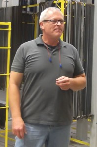 Tim Anderson, TGP's powder coat manager
