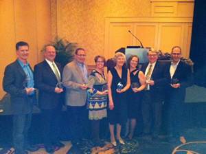 GANA members were recognized for their dedication to the industry as part of the inaugural member of the year awards.