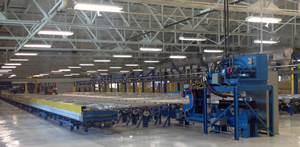Tubelite has added a third aluminum extrusion press and applied lean manufacturing principles at its Reed City, Mich., facility.
