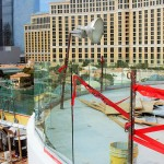 The site of Clear Solution Group's first project, a rooftop nightclub in Las Vegas. (photo provided)