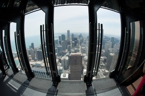 Tilt! sits 94 stories above Chicago in the John Hancock Center. (Photo provided by Isabelli Media Relations)