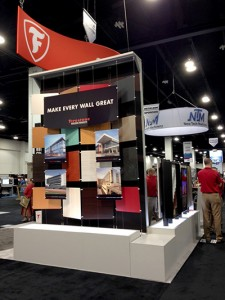 Firestone Building Products is one of 275 exhibitors at Metalcon 2014 in Denver, Colo.