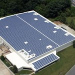 McGrory Glass installed 2,782 USA-made Sharp solar panels at its New Jersey facility.