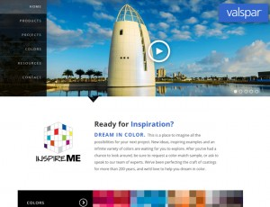 web of week valspar