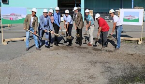 Lisec broke ground last week at its new service and training center.