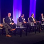Dodge Data & Analytics held a building products manufacturers panel at its annual Dodge Outlook Conference Friday in Washington, D.C.