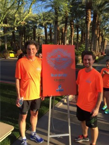 Annual Conference attendees enjoyed a Fun Run and walk this morning, which was sponsored by Kuraray and Quanex. Mark Jacobson from Kurary (left) and Joe Erb from Quanex (right) spearheaded the idea to organize the run.