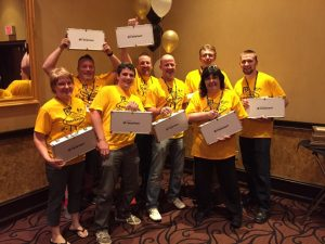 Team Gold wins it all at FeneRoyale, the Monday night FeneVision User Conference social event