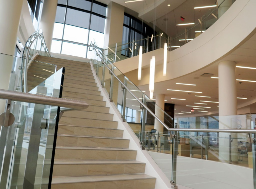 SC Railingu0027s Pre Engineered Railing Systems Are Used In A Variety Of Public  Spaces, Such As Hospitals, Corporate Offices, Hotels, Education, ...