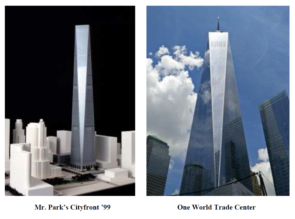 Architect Says Som Ripped Off His Design For One World Trade Center